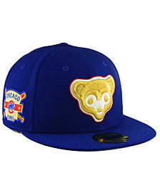New Era Chicago Cubs Exclusive Gold Patch 59FIFTY Cap