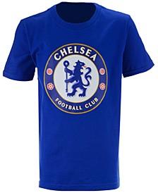 Chelsea Club Team Primary Logo T-Shirt, Big Boys (8-20)