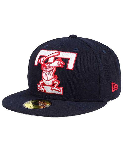 e29b15267a323 ... New Era Toledo Mud Hens MiLB Logo Grand 59FIFTY Fitted Cap ...