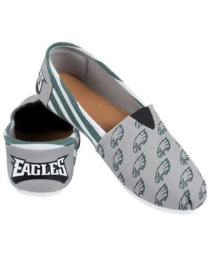 Philadelphia Eagles Canvas Logo Shoe