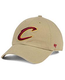 '47 Brand Cleveland Cavaliers Khaki CLEAN UP Cap