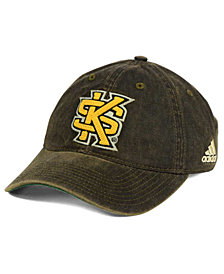 adidas Kennesaw State Owls Over Dye Slouch Cap