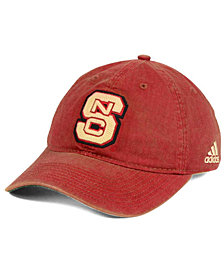adidas North Carolina State Wolfpack Over Dye Slouch Cap