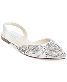 Betsey Johnson Molly Sling Back Flat