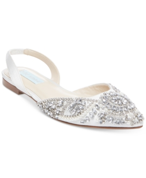 Blue by Betsey Johnson Women's Molly Evening Flats Women's Shoes