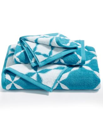 CLOSEOUT! Elite Cotton Trellis Bath Towel, Created for Macy's