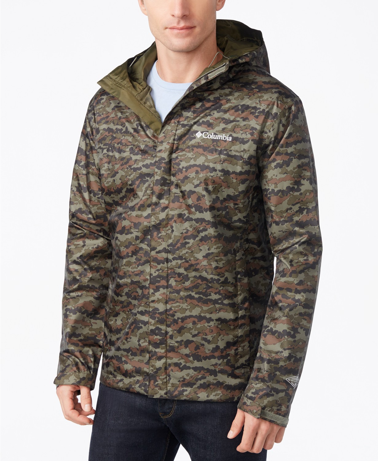 Columbia Watertight Packable Camouflage Men's Jacket
