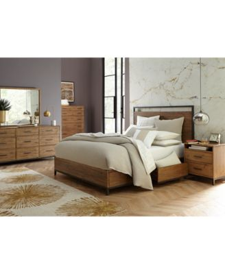 A Wonderful Fusion Of Solid Pine And Metal Give The Gatlin Storage Bedroom  Furniture Collection A Handsome And Rustic Character.