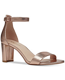 Nine West Pruce Block-Heel Sandals
