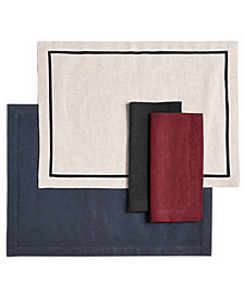 Hotel Collection Modern Table Linens Collection, Created for Macy's