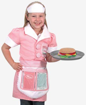 Melissa and Doug Kids Toy, Girls Waitress Play Set