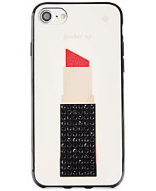 kate spade new york Jeweled Lipstick iPhone 7 Case