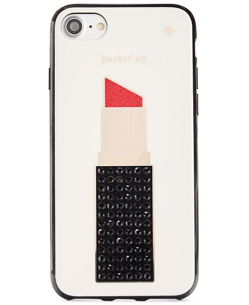 factory authentic 1590d ae883 kate spade new york Jeweled Lipstick iPhone 7 Case & Reviews ...