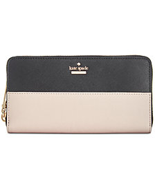 kate spade new york Cameron Street Lacey Saffiano Leather Wallet