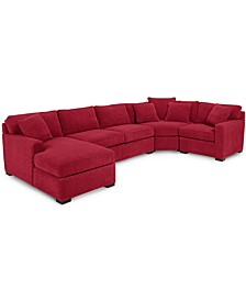 Radley 4-Piece Fabric Chaise Sectional Sofa, Created for Macy's