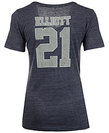 Nike Women's Ezekiel Elliot Dallas Cowboys Player Tri-Blend T-Shirt