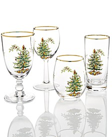 Christmas Tree Collection Glassware Collection