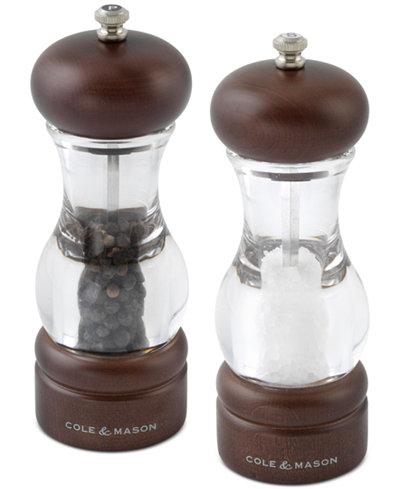 Cole & Mason Forest Salt & Pepper Grinder Set