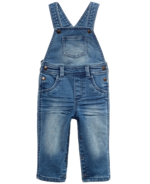 First Impressions Denim Overalls Baby Boys (024 months) Created for Macys