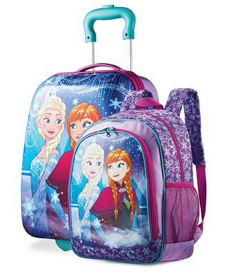 American Tourister Disney Frozen Kid S Luggage Collection By