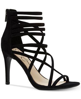 Jessica Simpson Harmoni Tubular Strappy Dress Heels - Sandals ...