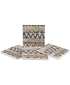 Thirstystone Tribal Weave 4-Pc. Coaster Set