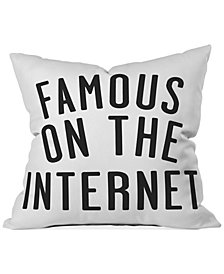 "Deny Designs Leeana Benson Famous 16"" Square Decorative Pillow"