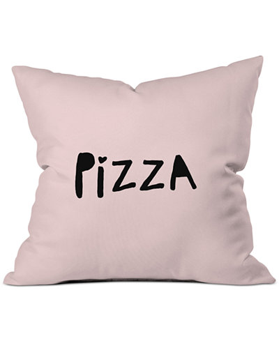 Deny Designs Allyson Johnson Pizza Pink Throw Pillow