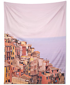 Deny Designs Happee Monkee Dreamy Cinque Terre Tapestry