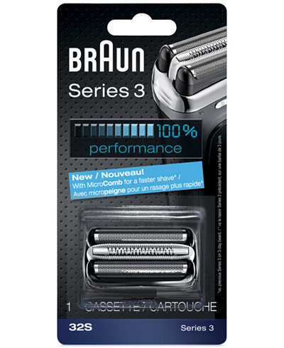 Braun Men's Series 3 Foil & Cutter Combination