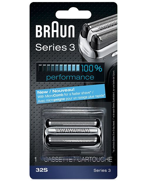 Braun Men's Series 3 Foil & Cutter Combination