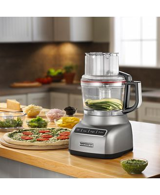 kitchenaid® kfp0922cu 9-cup food processor with exactslice™ system