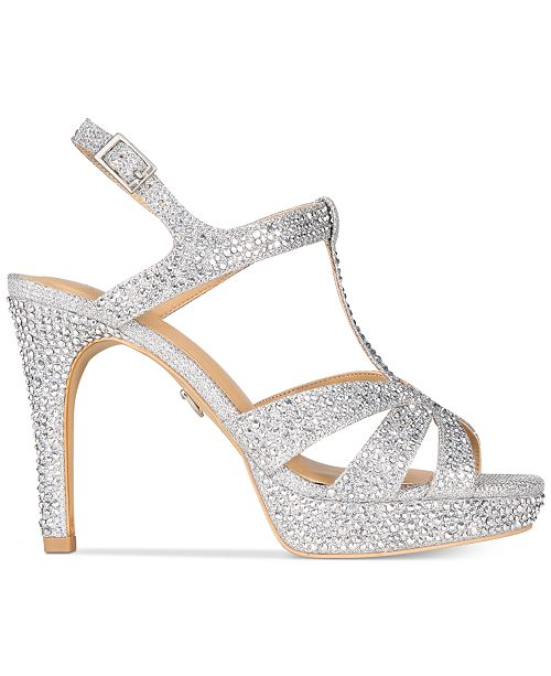 ecafe4ae96a ... Thalia Sodi Verrda2 Embellished Platform Dress Sandals