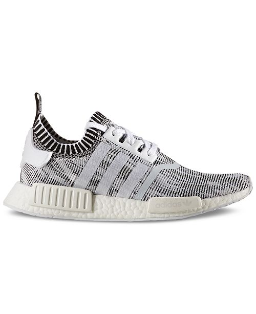 78d72ccf396a0 adidas Men s NMD R1 Primeknit Casual Sneakers from Finish Line ...