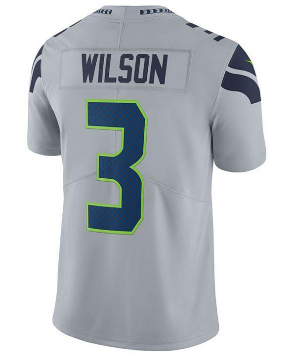 Nike Men's Russell Wilson Seattle Seahawks Vapor Untouchable Limited Jersey
