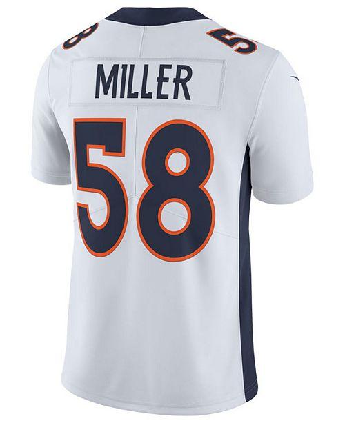 finest selection 675a9 1a93a Men's Von Miller Denver Broncos Vapor Untouchable Limited Jersey