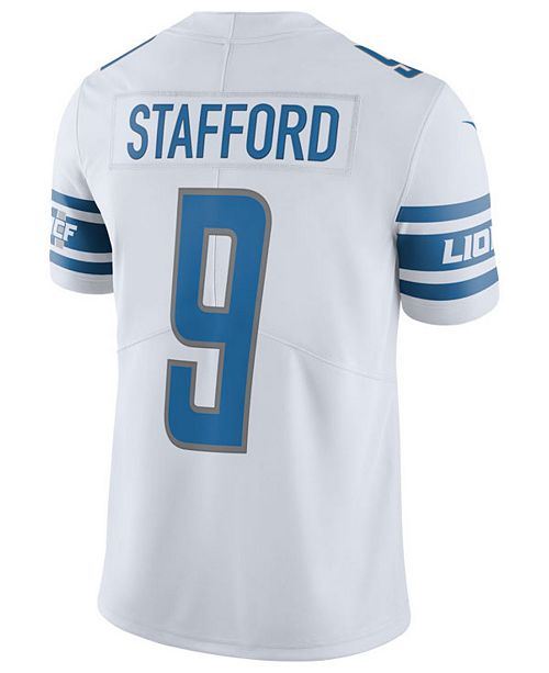 Nike Men's Matthew Stafford Detroit Lions Vapor Untouchable Limited Jersey