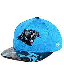 New Era Boys' Carolina Panthers 2017 Draft 9FIFTY Snapback Cap