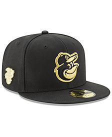 New Era Baltimore Orioles The League Metallic Patch 59FIFTY Fitted Cap