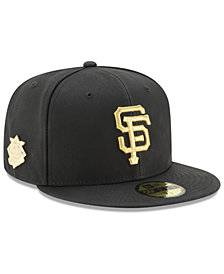New Era San Francisco Giants The League Metallic Patch 59FIFTY Fitted Cap
