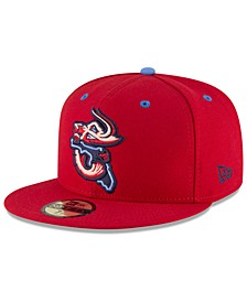 Jacksonville Jumbo Shrimp AC 59FIFTY Fitted Cap