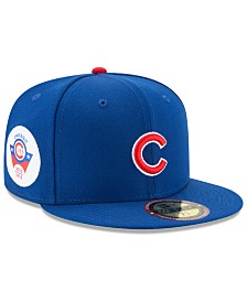 new style 2b56b 98b09 New Era Chicago Cubs Ultimate Patch Collection Game 59FIFTY Fitted Cap