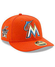 New Era Miami Marlins MLB Miami ASG Patch Low Profile 59FIFTY Fitted Cap