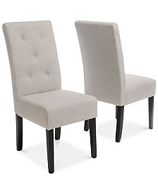 Neren Dining Chairs (Set Of 2), Quick Ship