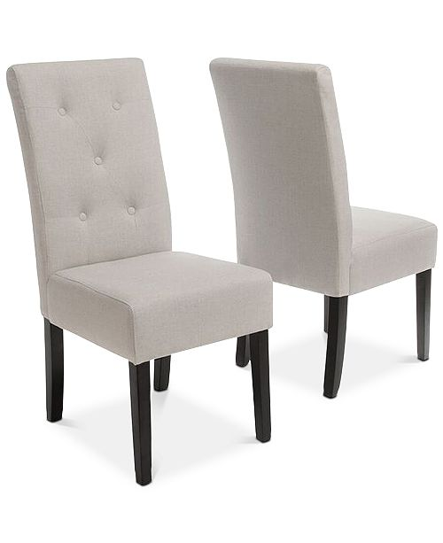 Noble House Neren Dining Chairs (Set Of 2), Quick Ship