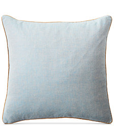 "Lauren Ralph Lauren Kelsey Cross-Dyed 20"" Square Decorative Pillow"