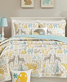 Woodland 4-Pc. Coverlet Set