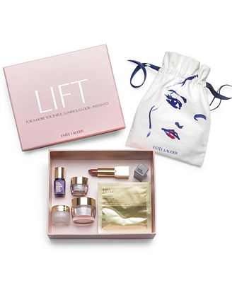 Choose your FREE 6-pc. Beauty In A Box Gift with any $37.50 Estée Lauder purchase, Created for Macy's! (A $115 Value!)