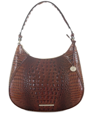 Image of Brahmin Amira Melbourne Embossed Leather Hobo