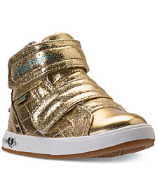 Skechers Toddler Girls' Shoutouts High Top Casual Sneakers from Finish Line